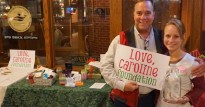 Love Caroline Foundation fundraiser at Red Brick Station.
